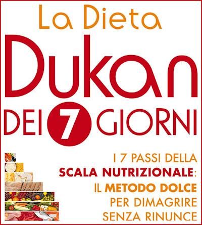 Dieta Dukan dei sette giorni: schema completo